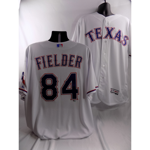 Photo of Prince Fielder White Team-Issued Jersey