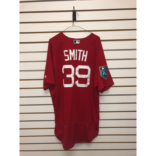 Carson Smith Team-Issued 2018 Spring Training Jersey