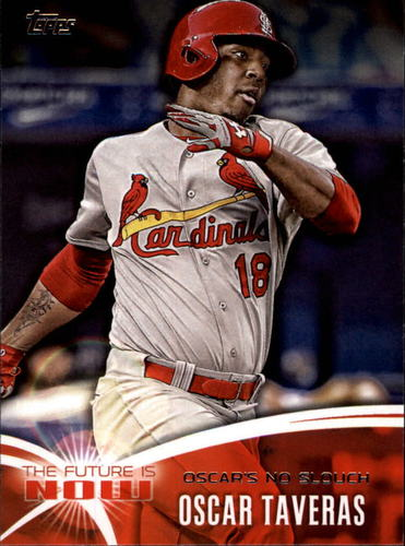 Photo of 2014 Topps The Future is Now #FNOT1 Oscar Taveras UPD