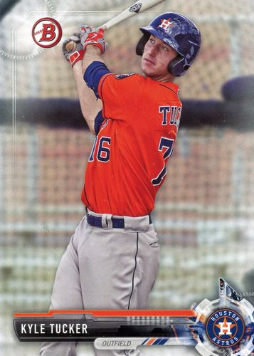 Photo of 2017 Bowman Prospects #BP28 Kyle Tucker