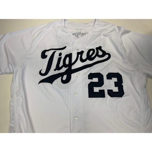 Photo of Team-Issued Fiesta Tigres Jersey: Willie Horton