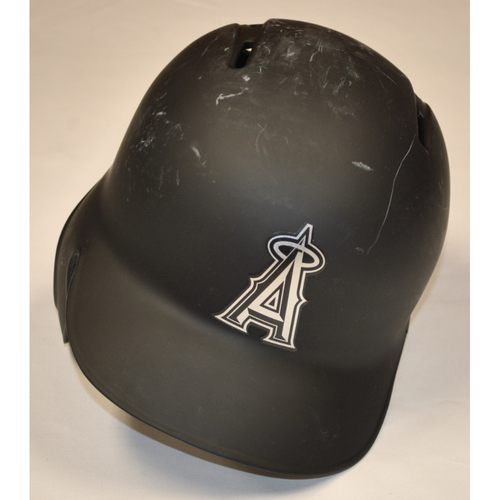 "Photo of Anthony ""BOOMER"" Bemboom Los Angeles Angels Game-Used 2019 Players' Weekend Helmet"