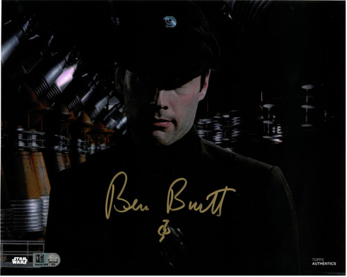 Ben Burtt As Colonel Dyer 8X10 AUTOGRAPHED IN 'Gold' INK PHOTO
