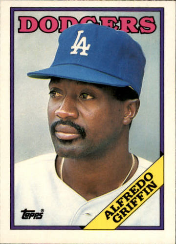 Photo of 1988 Topps Traded #43T Alfredo Griffin