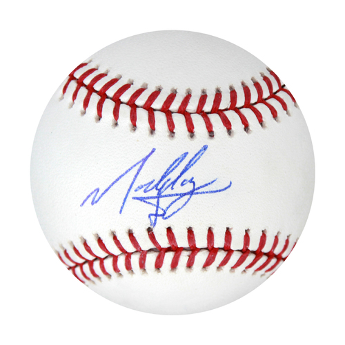 Photo of Autographed Baseball: MJ Melendez