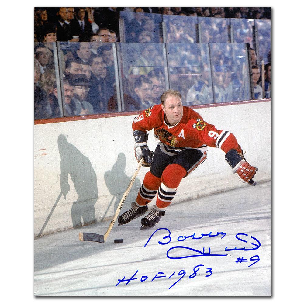 Bobby Hull Chicago Blackhawks HOF Autographed 11x14
