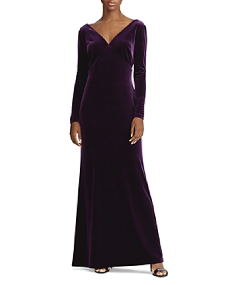 Photo of Ralph Lauren Stretch Velvet Gown