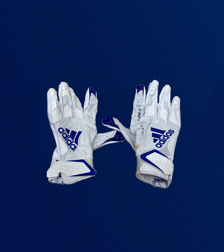 Photo of Josh Reynolds Game Used Gloves - (11/15/2020 VS. Seattle Seahawks)