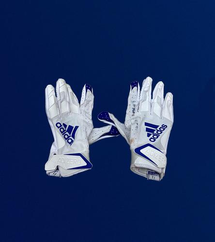 Josh Reynolds Game Used Gloves - (11/15/2020 VS. Seattle Seahawks)
