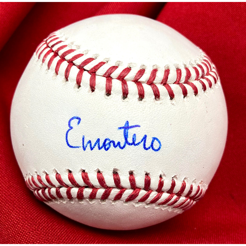 Photo of Elehuris Montero Autographed Baseball