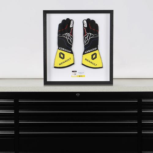 Photo of Esteban Ocon 2020 Race Used Race Gloves