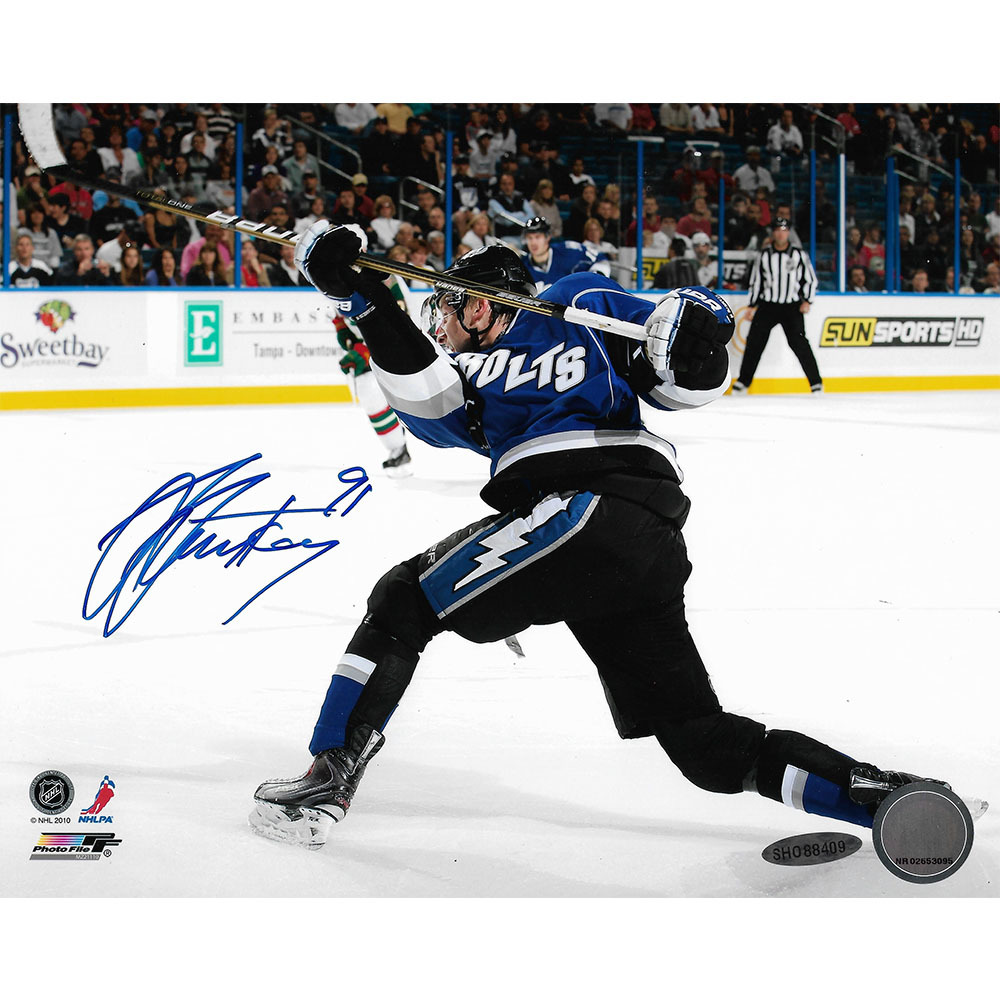 Steven Stamkos Autographed Tampa Bay Lightning 8X10 Photo