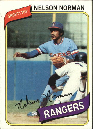 Photo of 1980 Topps #518 Nelson Norman RC