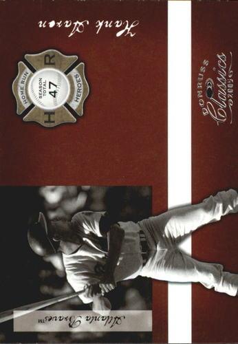 Photo of 2005 Donruss Classics Home Run Heroes #44 Hank Aaron