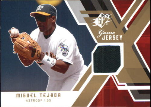 Photo of 2009 SPx Game Jersey #GJMT Miguel Tejada