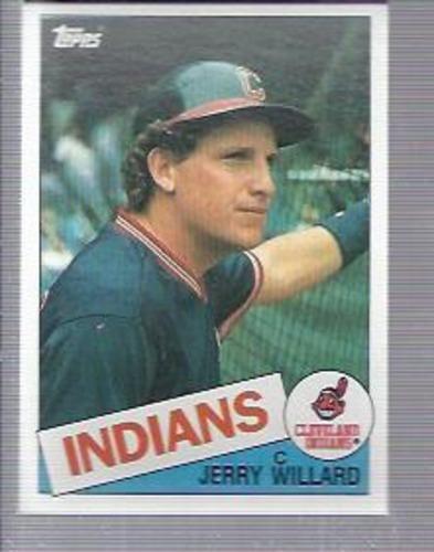 Photo of 1985 Topps #504 Jerry Willard