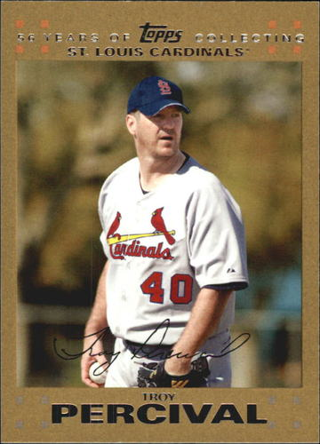 Photo of 2007 Topps Update Gold #320 Troy Percival