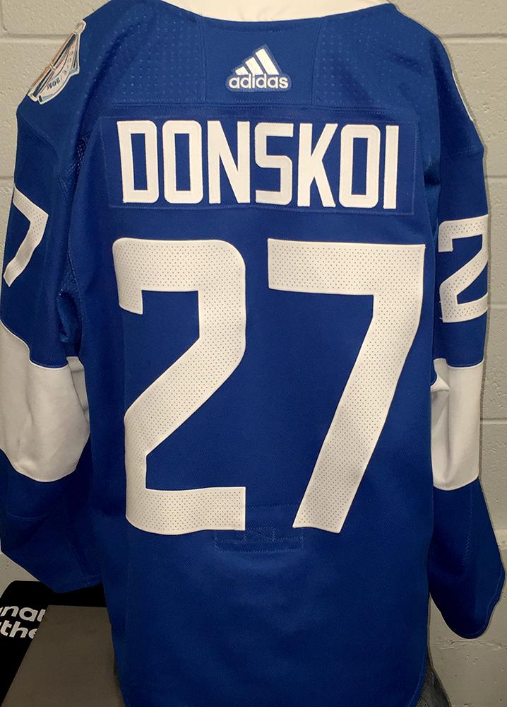 buy online 03f9b 5e257 Joonas Donskoi San Jose Sharks Game-Worn Home 2016 World Cup ...