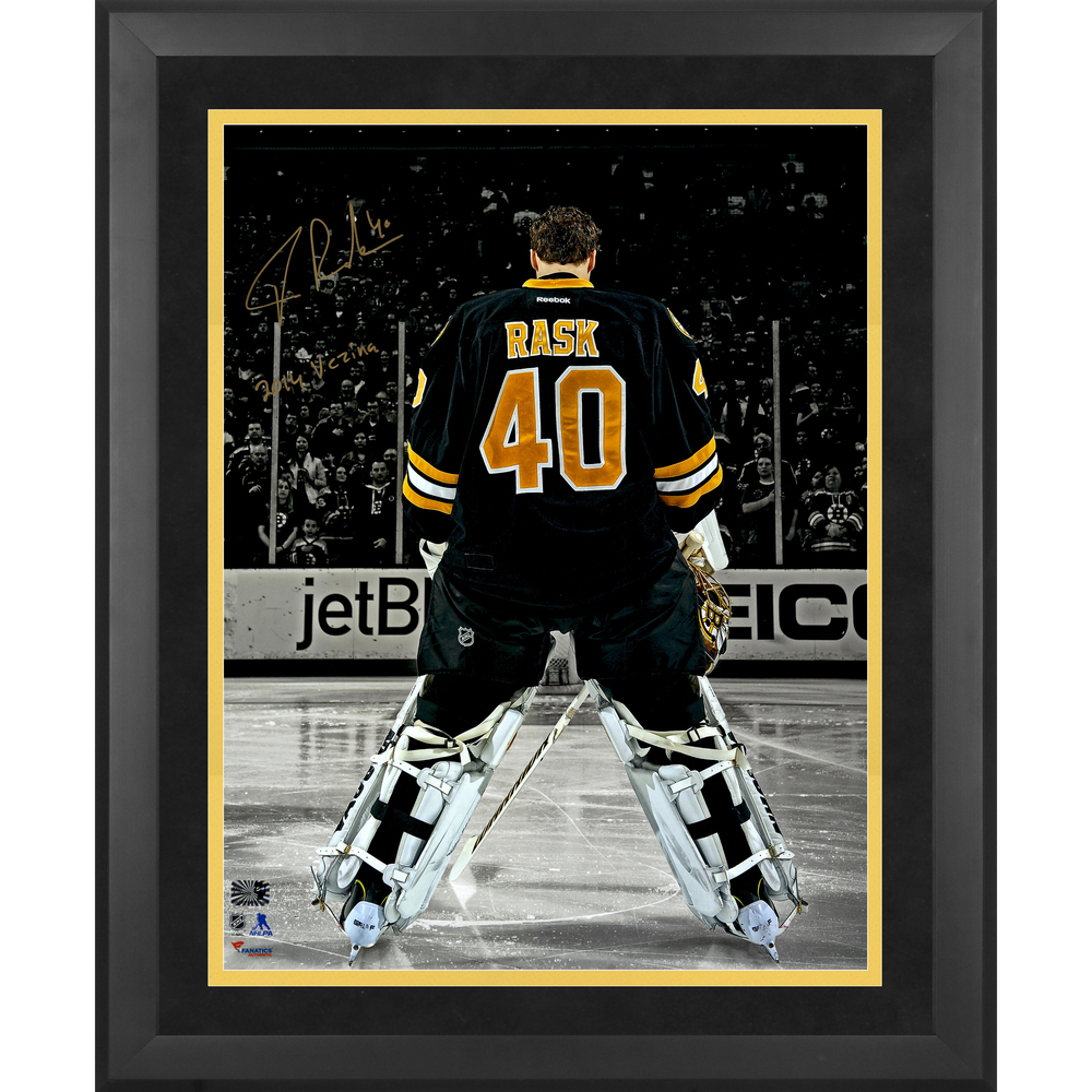 Tuukka Rask Boston Bruins Framed Autographed 16