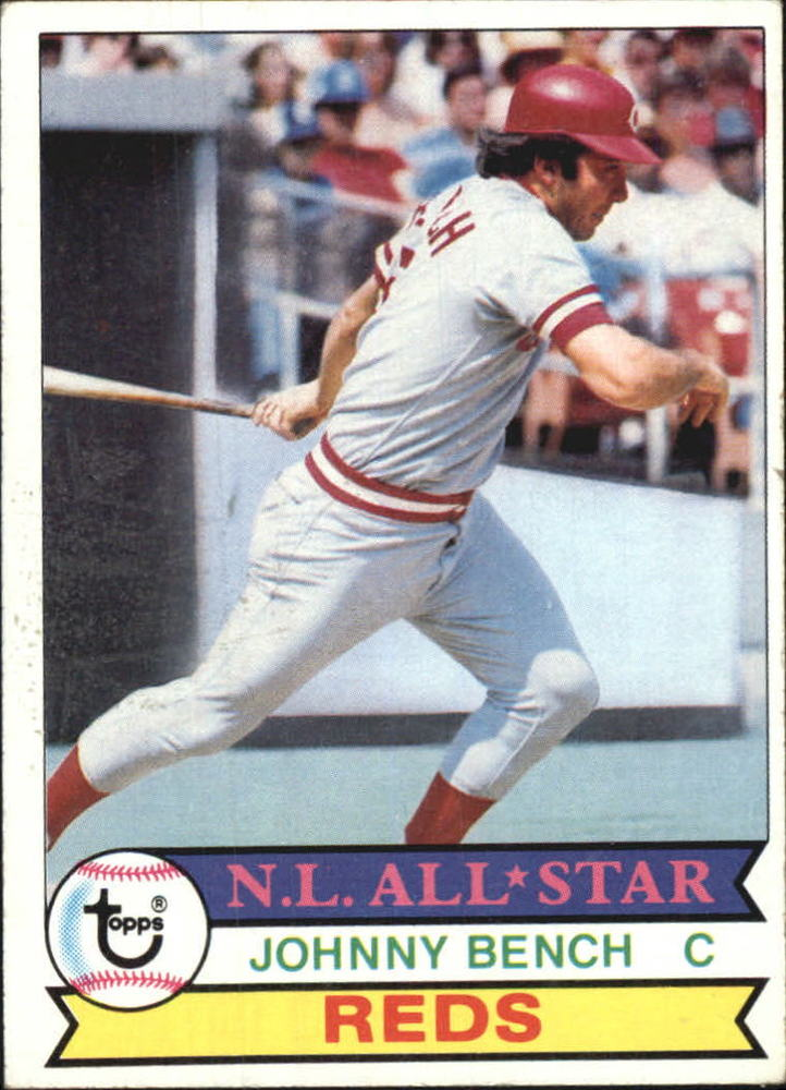 1979 Topps #200 Johnny Bench -- Hall of Famer