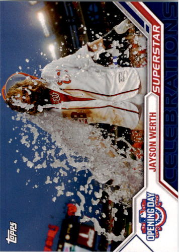 Photo of 2017 Topps Opening Day Superstar Celebrations #SC6 Jayson Werth