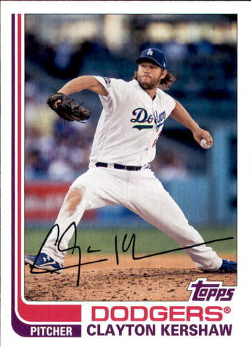 Photo of 2017 Topps Archives #138 Clayton Kershaw