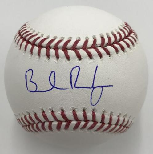 Photo of Brendan Rodgers Autographed Baseball
