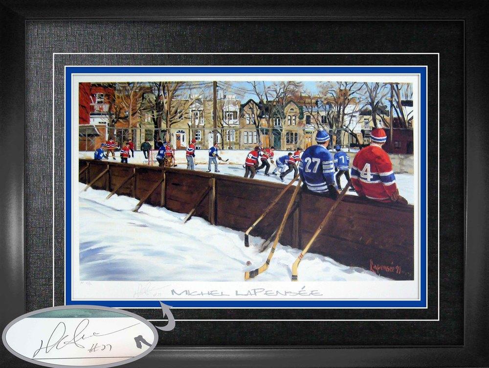 Darryl Sittler - Signed & Framed 18x27
