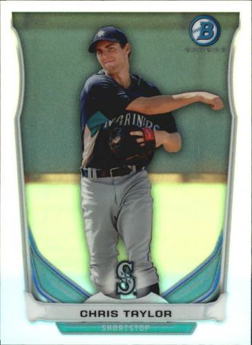 Photo of 2014 Bowman Chrome Bowman Scout Top 5 Mini Refractors  Chris Taylor