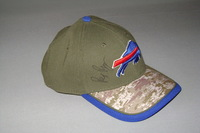 BILLS - REX RYAN SIGNED BILLS STS NEW ERA HAT - FITTED SIZE S/M