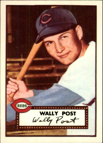 Photo of 1983 Topps 1952 Reprint #151 Wally Post