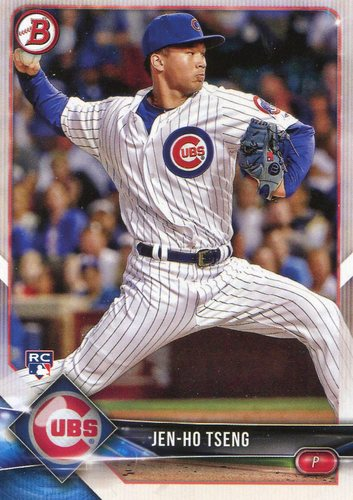 Photo of 2018 Bowman #11 Jen-Ho Tseng -- Rookie Card