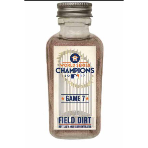 Photo of 2017 World Series Game 7: Houston Astros Game-Used Dirt Jar