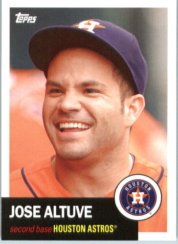 Photo of 2016 Topps Archives #80 Jose Altuve