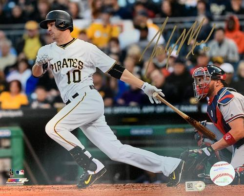 Photo of Jordy Mercer Autographed 8 x 10 Photo - Gold Signature