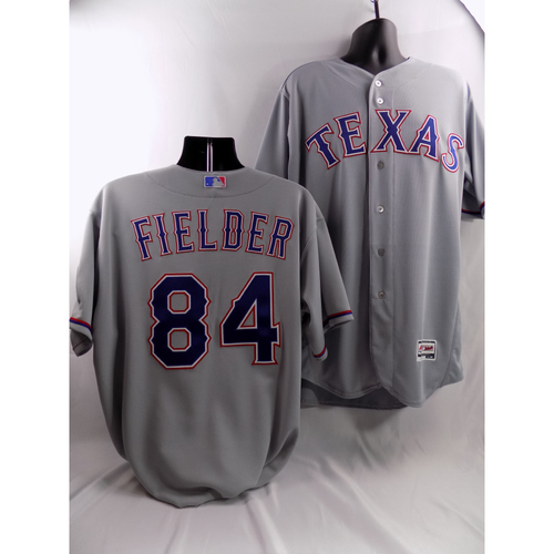 Photo of Prince Fielder Grey Team-Issued Jersey