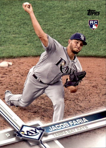 Photo of 2017 Topps Update #US240A Jacob Faria RC
