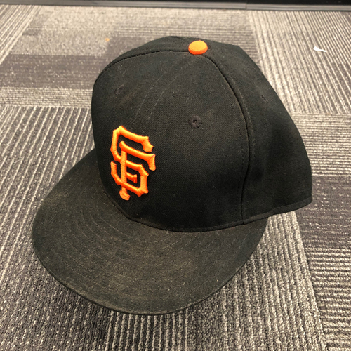 Photo of 2015 Game Used Regular Season Cap worn by #6 Marlon Byrd - Size 7 5/8