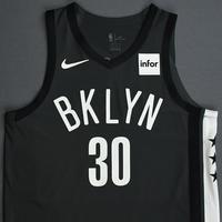 Dzanan Musa - Brooklyn Nets - 2018-19 Season - Game-Worn Gray Statement Edition Jersey
