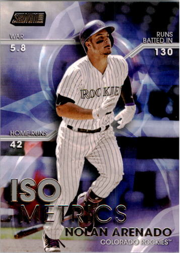 Photo of 2016 Stadium Club ISOmetrics #I25 Nolan Arenado