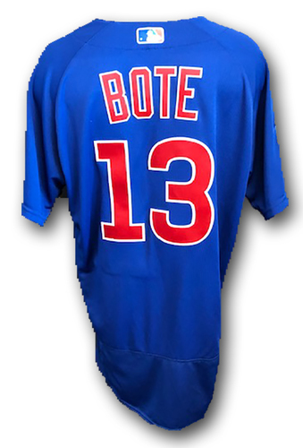 Photo of 12 Days of Auctions: Day 10 -- David Bote Team-Issued Jersey -- 2019 Season -- Size 44