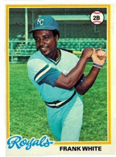 Photo of 1978 Topps #248 Frank White DP