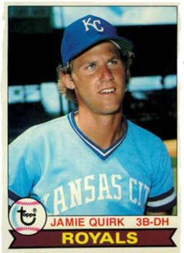 Photo of 1979 Topps #26 Jamie Quirk