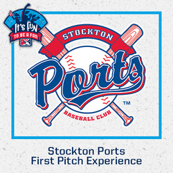 Photo of Stockton Ports First Pitch Experience