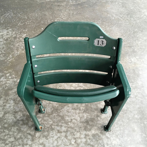 Team-Issued Miller Park Seat #13 (LOCAL PICKUP ONLY)