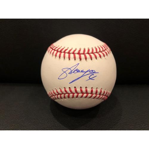 Photo of Reds Authentics: Shogo Akiyama -- Autographed Baseball
