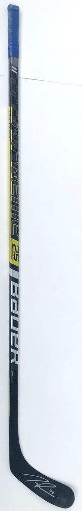 #70 Tanner Pearson Game Used Stick - Autographed - Vancouver Canucks