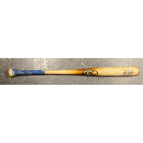 Photo of 2020 Cyber Monday Sale - #48 Pablo Sandoval Team Issued Tucci Game Model Bat