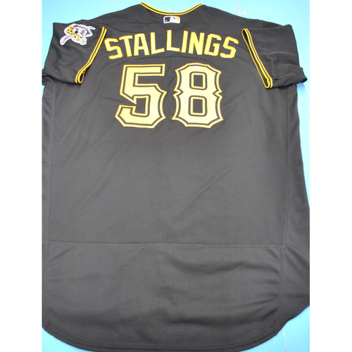 Photo of Team-Issued 2020 Road Black Jersey - Jacob Stallings