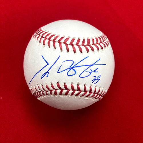 Photo of Kwang Hyun Kim Autographed Baseball